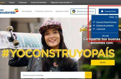 bancolombia consultar saldo