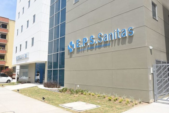 Coordenadas de EPS Sanitas en Barranquilla