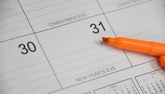 calendario festivo