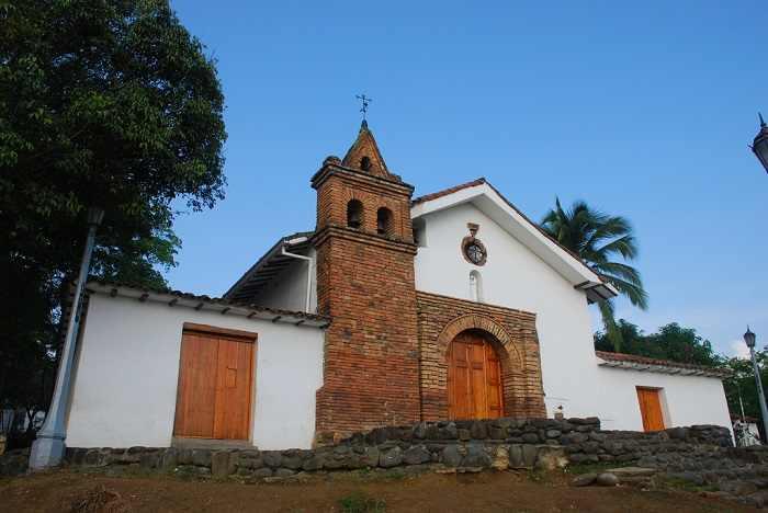 sitios turisticos cali San_Antonio iglesia